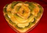 Tarta cu mere coapte,croissant 021